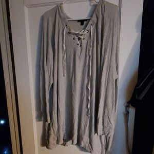 Lane Bryant long sleeved shirt